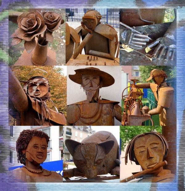 Sculptures au fil de la ville