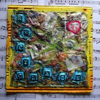 Mail Art - Recyclage